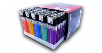 Upaljač providni plin u boji